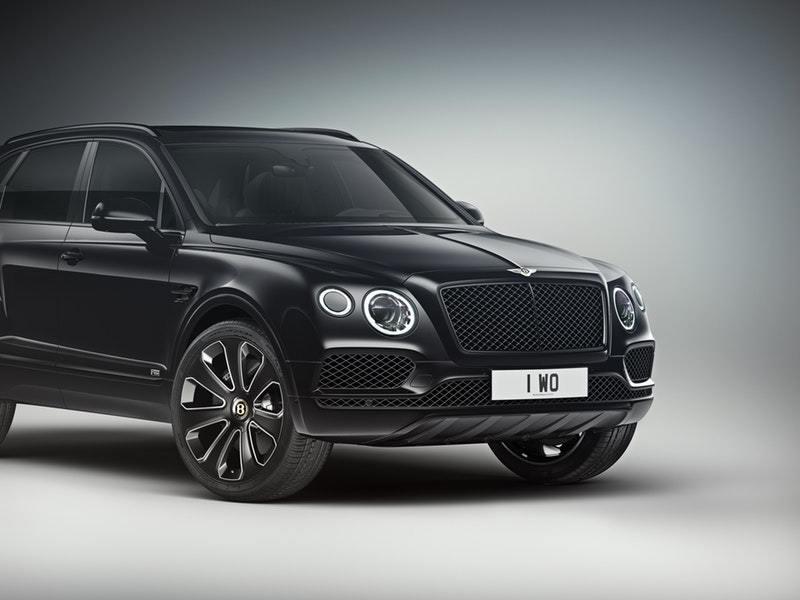 Bentley анонсировал специальную серию BENTAYGA