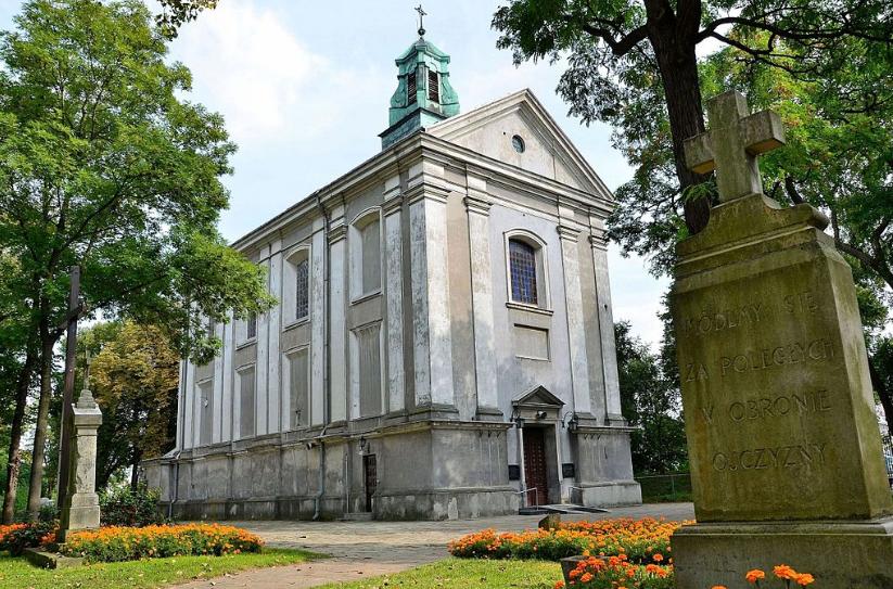 Польша: Приходская церковь Святого Лаврентия в Глогуве